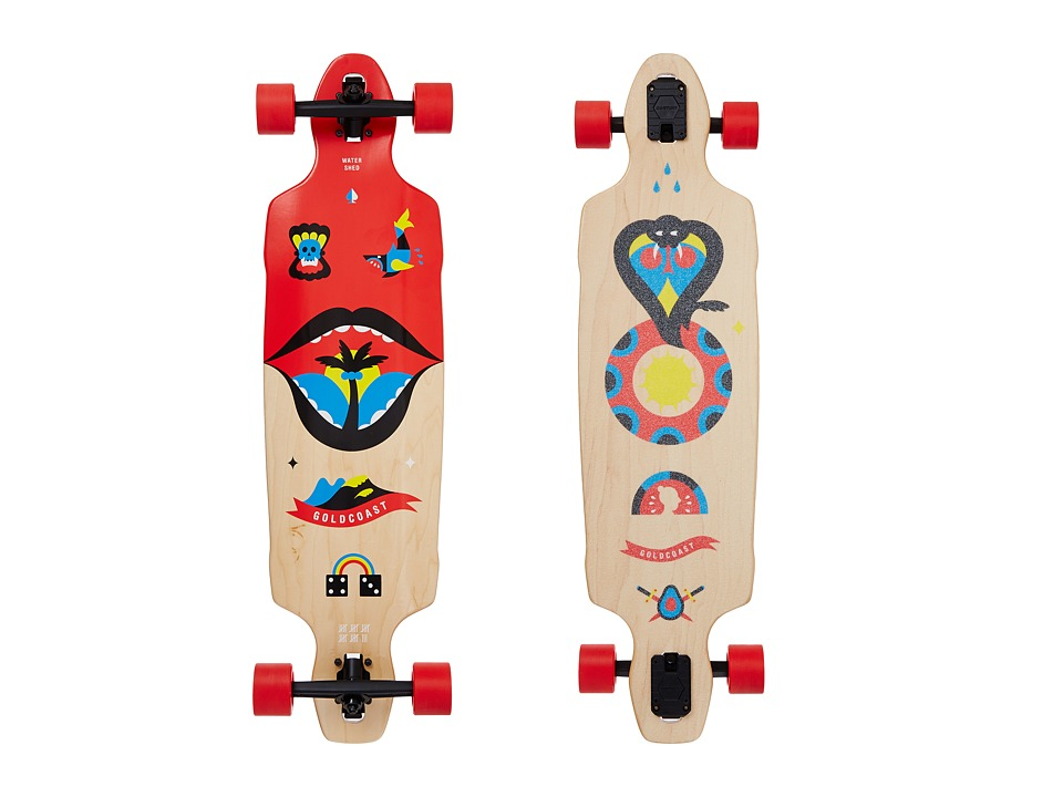 Gold Coast - Watershed Drop Through (Maple) Skateboards Sports Equipment