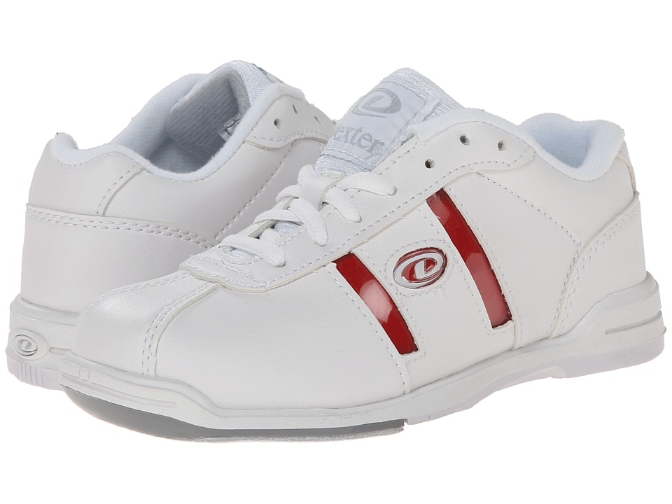 Dexter Bowling - Kolors (Little Kid/Big Kid) (White/Change (Grey, Blue, Pink, Black, Red)) Men's Bowling Shoes