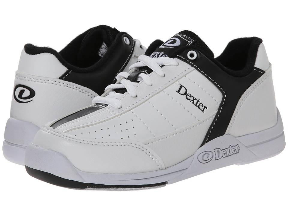 Dexter Bowling - Ricky III Jr. (Little Kid/Big Kid) (White/Black) Men's Bowling Shoes