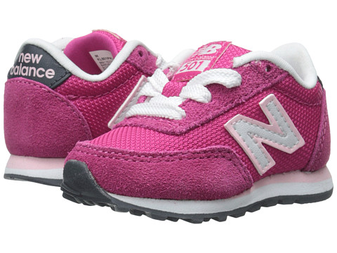 New Balance Kids - Classics Core (Infant/Toddler) (Exhuberant Pink/Confetti) Girls Shoes