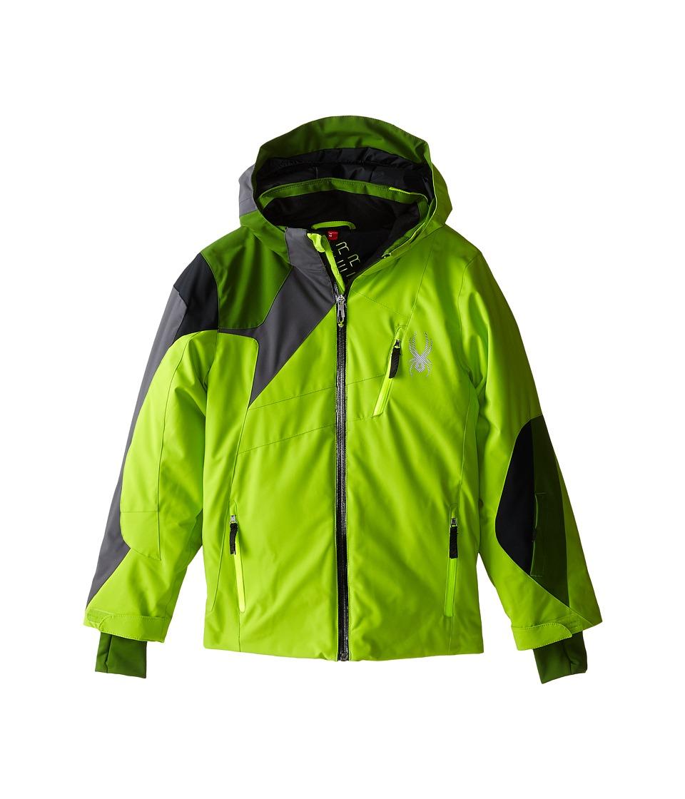Spyder Kids - Avenger Jacket (Big Kids) (Theory Green/Mountain Top/Polar) Boy's Coat