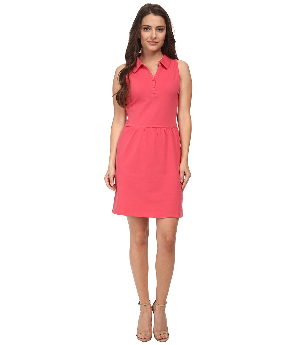 Dockers Petite - Petite Pique Dress (Claret Red) Women