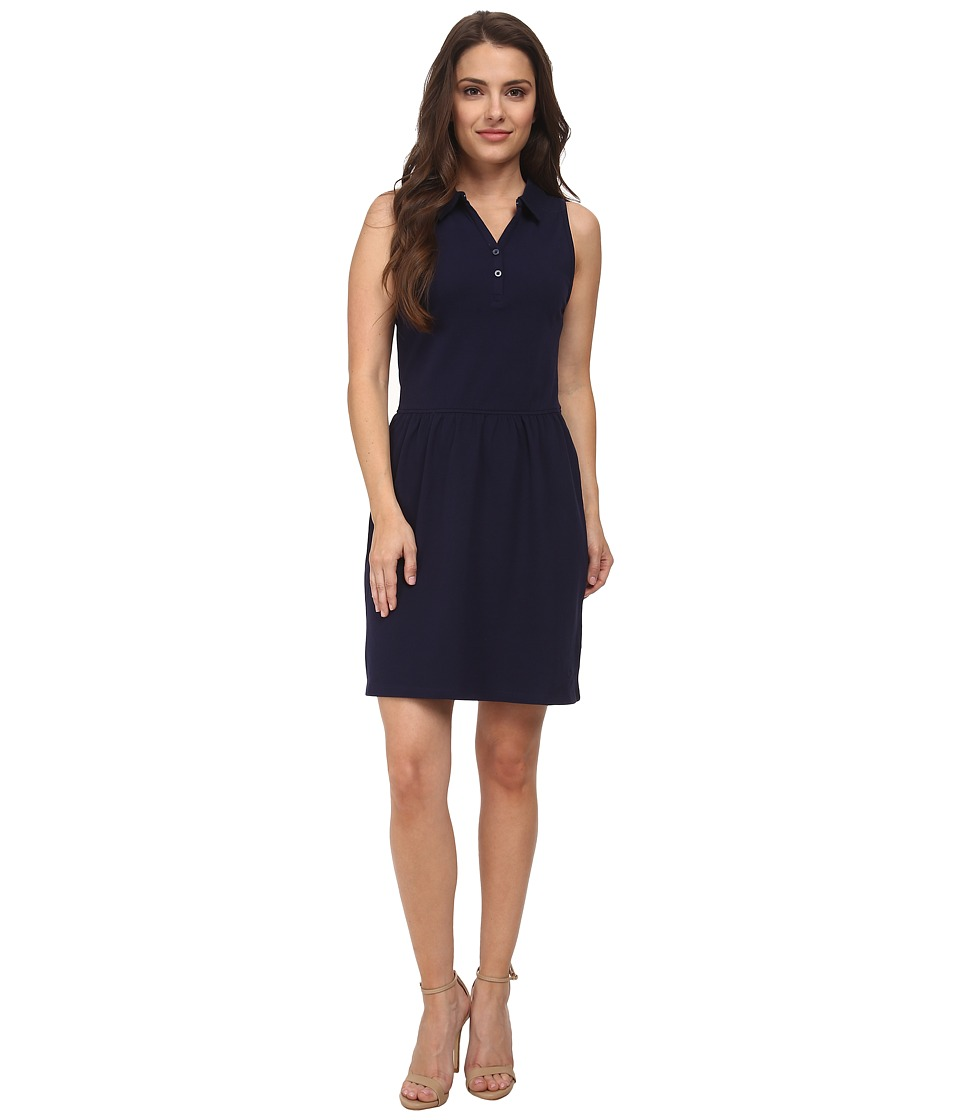 Dockers Petite - Petite Pique Dress (Sea Captain Blue) Women's Dress