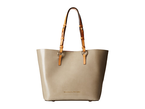 Dooney & Bourke - Siena Briana (Taupe/Hot Pink) Handbags