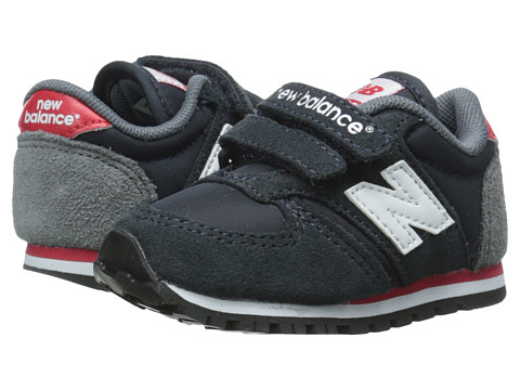New Balance Kids - Classics 420 (Infant/Toddler) (Navy/Red) Boys Shoes