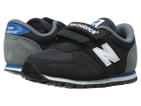New Balance Kids - Classics 420 (Infant/Toddler) (Black/Blue) Boys Shoes