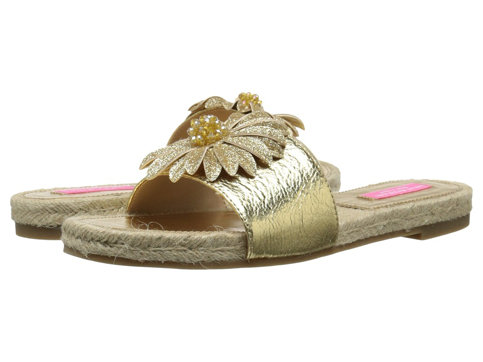 Isaac Mizrahi New York - Magnolia (Gold/Platino) Women's Slide Shoes