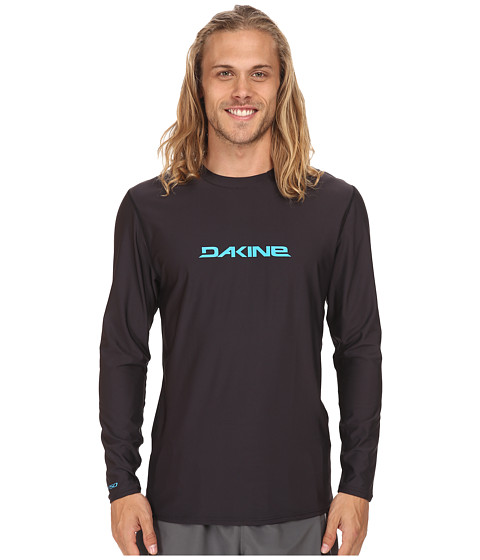 Dakine - Heavy Duty Long Sleeve (Loose) (Black) Men's Swimwear