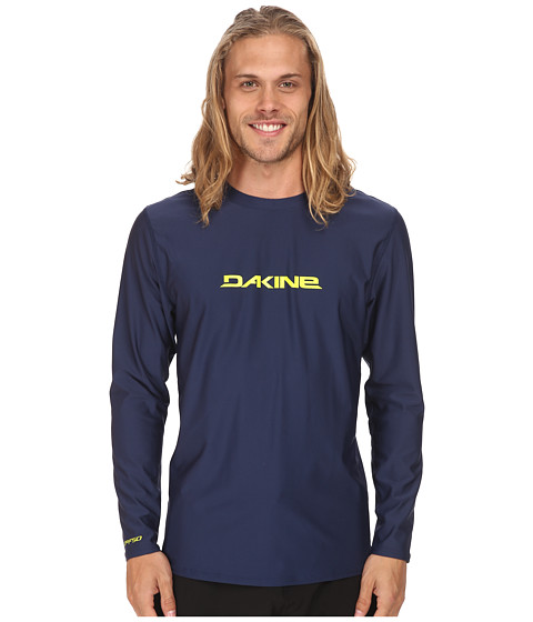 Dakine - Heavy Duty Long Sleeve (Loose) (Navy) Men's Swimwear