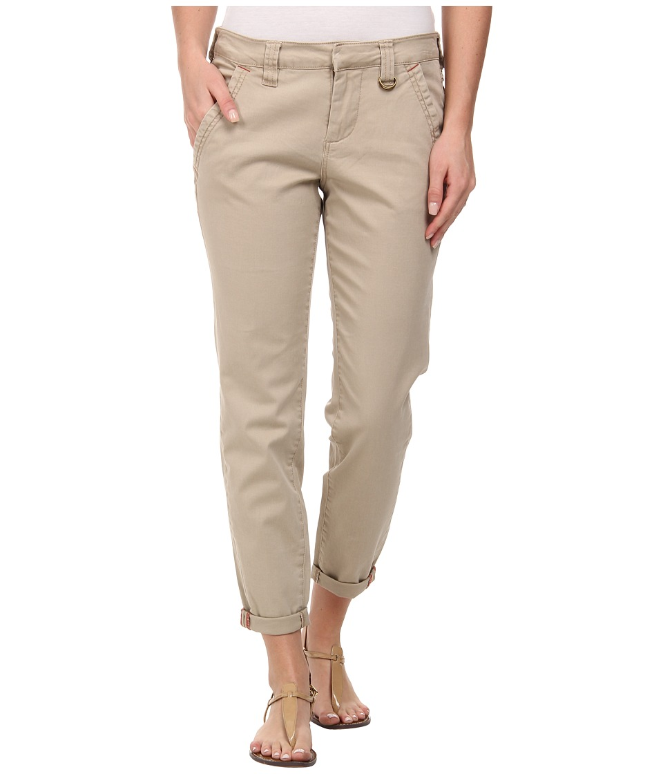 Jag Jeans - Dana Chino Boyfriend Bay Twill in British Khaki (British Khaki) Women's Casual Pants