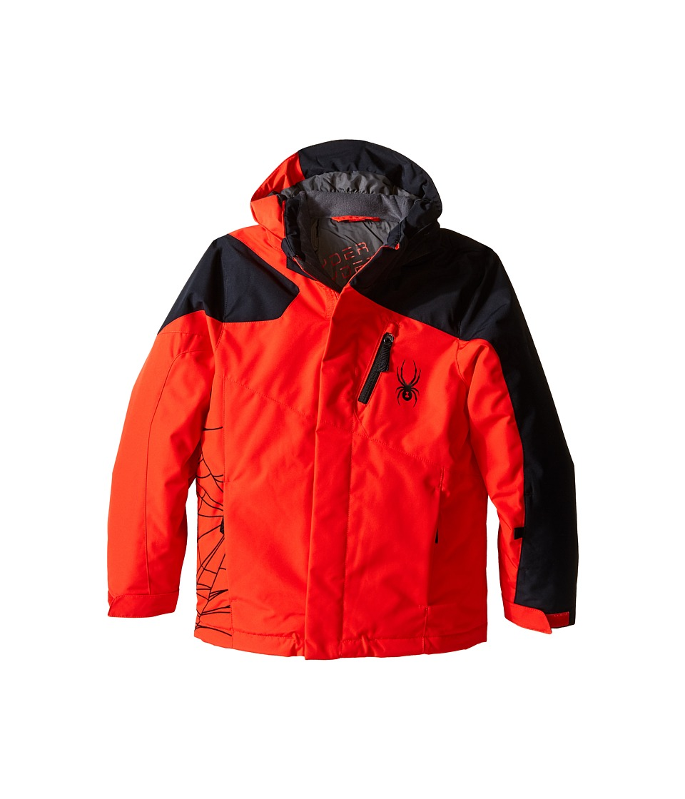 Spyder Kids - Guard Jacket (Big Kids) (Volcano/Black) Boy's Coat