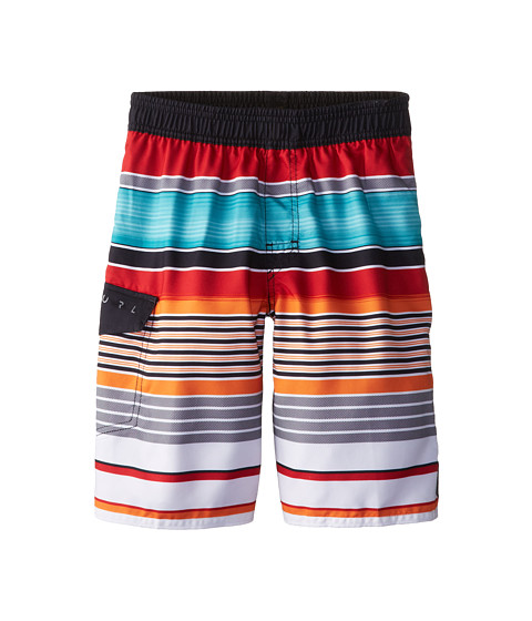 Rip Curl Kids - Overruled Volley Boardshorts (Big Kids) (Bright Red) Boy
