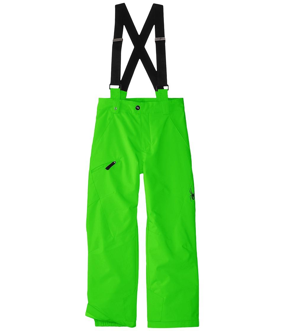 Spyder Kids - Propulsion Pants (Big Kids) (Theory Green) Boy's Outerwear