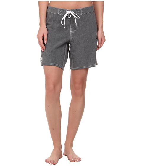 Dakine - Kahana Boardshorts 7.0 (Black Heather) Women