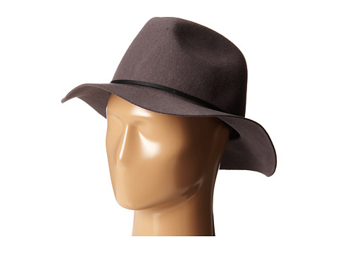 Brixton - Wesley Fedora (Grey) Traditional Hats
