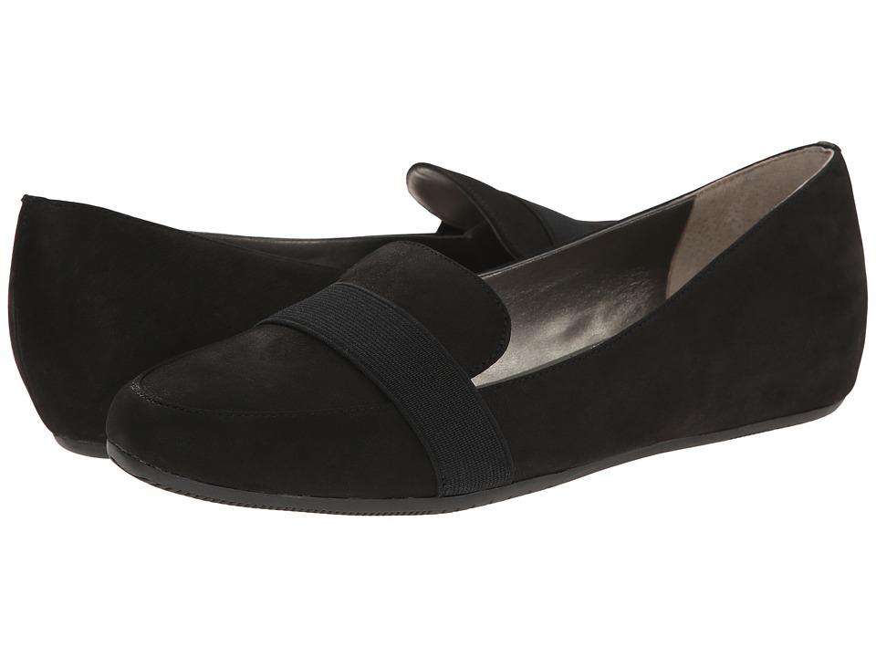 Tahari - Adrian (Black Volga/Elastic) Women's Flat Shoes