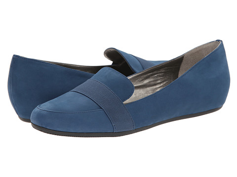 Tahari - Adrian (Blue Gloss Volga/Elastic) Women's Flat Shoes