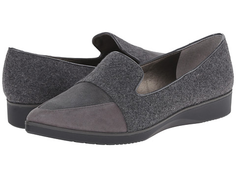 Tahari - Flight (Grey/Elephant Grey Flannel/Kid Suede) Women's Shoes