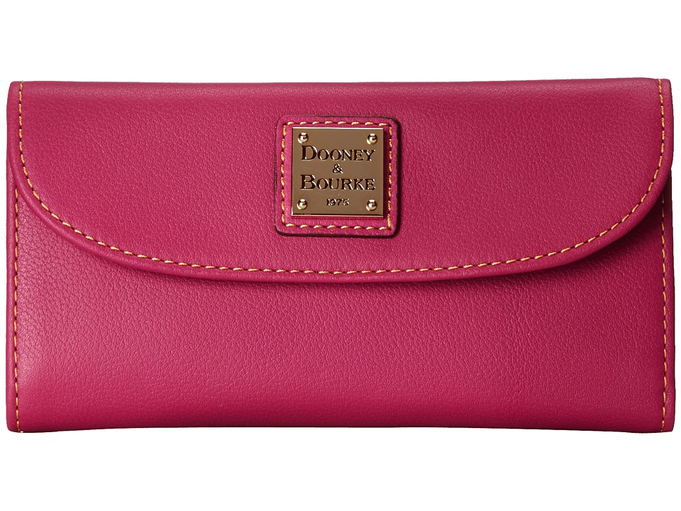 Dooney & Bourke - Seville Continental Clutch (Fuchsia w/ Self Trim) Clutch Handbags
