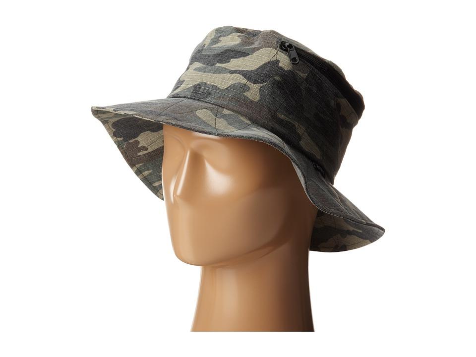 Brixton - Stow Bucket Hat (Camo) Bucket Caps