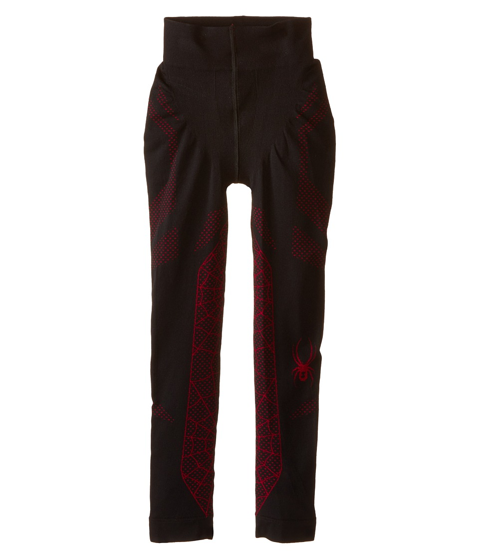Spyder Kids - Racer Pants (Little Kids/Big Kids) (Black/Volcano) Boy's Clothing