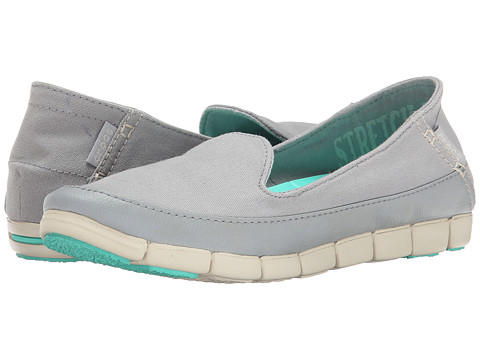 Crocs - Stretch Sole Skimmer (Light Grey/Stucco) Women's Shoes