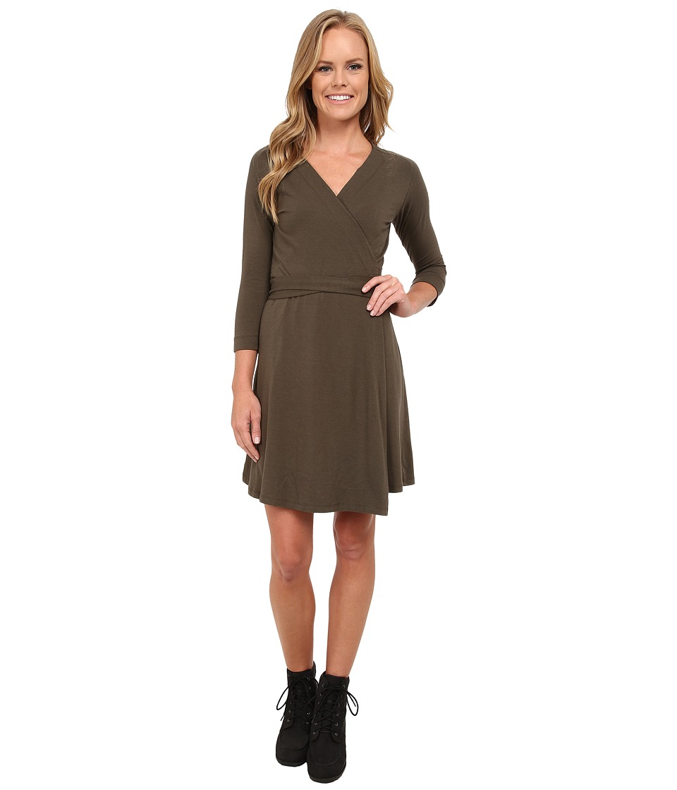 FIG Clothing - Amo Dress (Sencha) Women's Dress