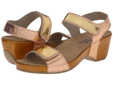 Helle Comfort - Alesha (Toast Combo) Women's Dress Sandals