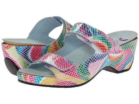 Helle Comfort - Amadi (Multi Snake) Women's 1-2 inch heel Shoes