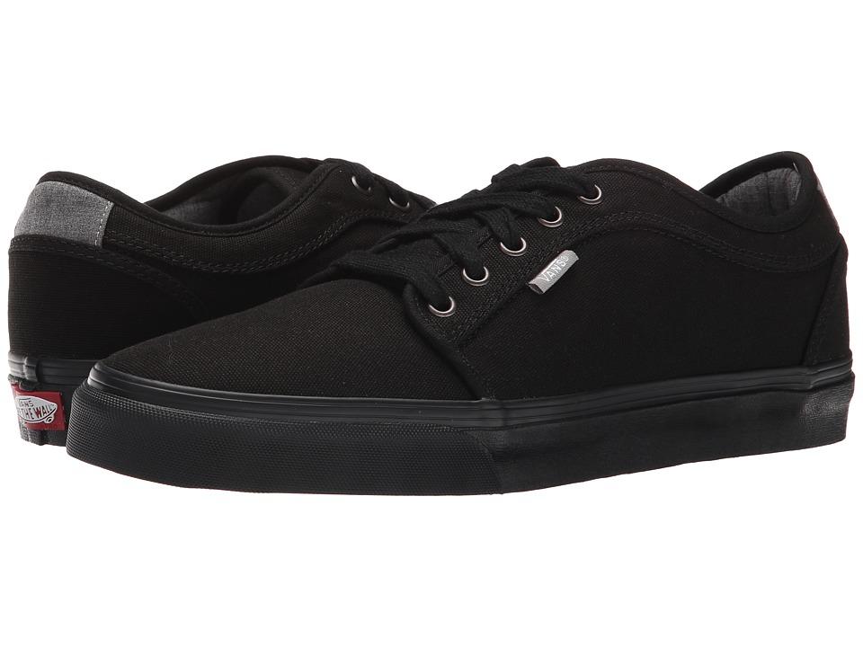 Vans - Chukka Low ((Chambray) Black) Men's Skate Shoes
