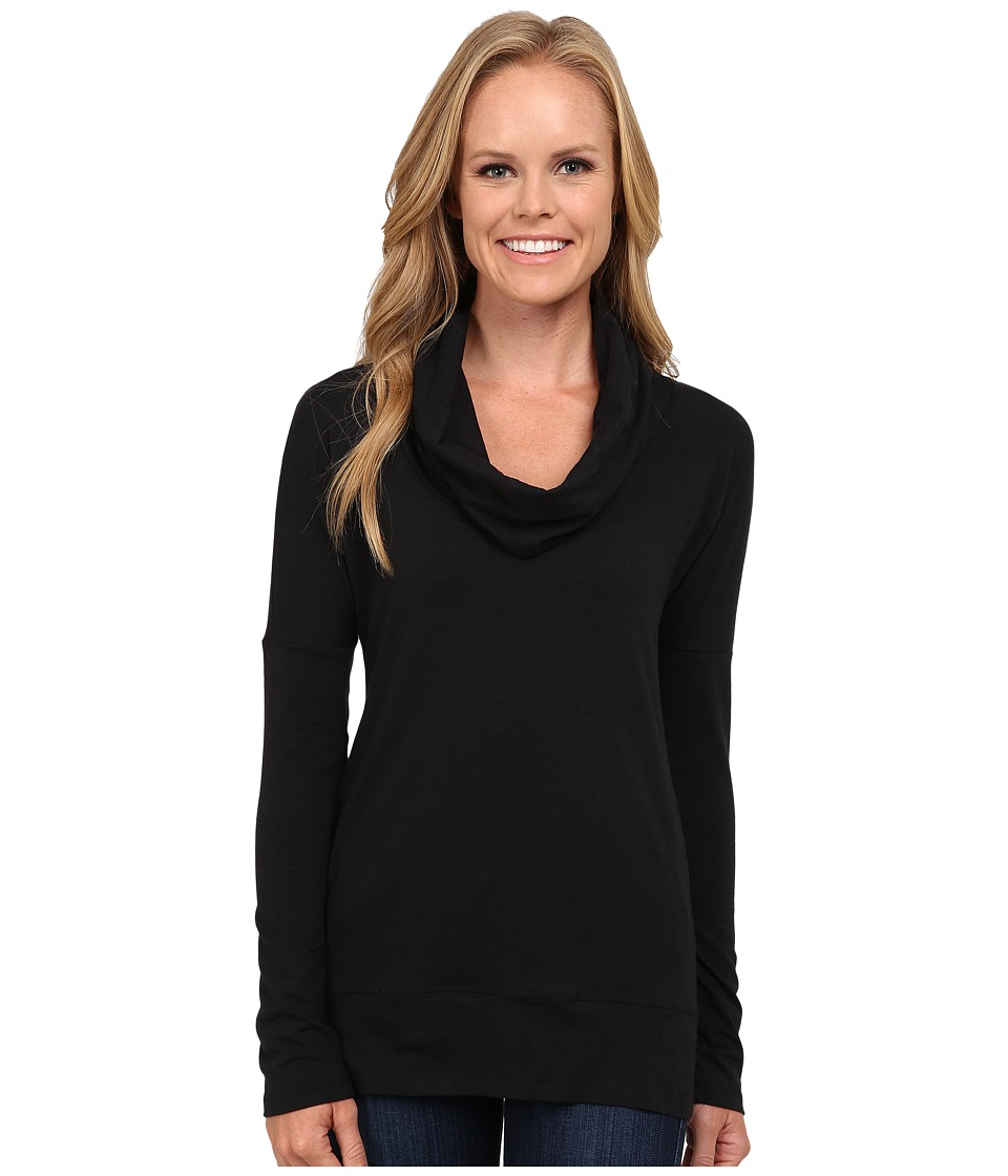 FIG Clothing - Epi Top (Black) Women's Long Sleeve Pullover