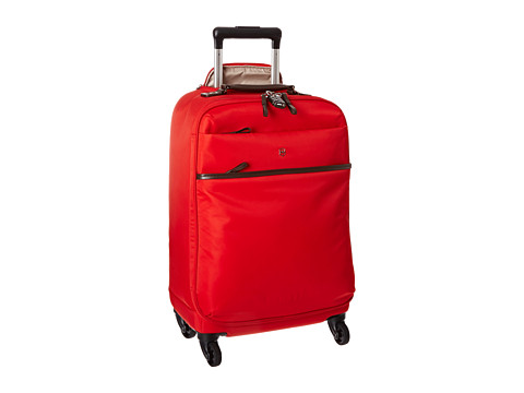 Victorinox - Victoria - Ambition 4-Wheel Global Carry-On with Tablet/eReader Pocket (Red) Carry on Luggage