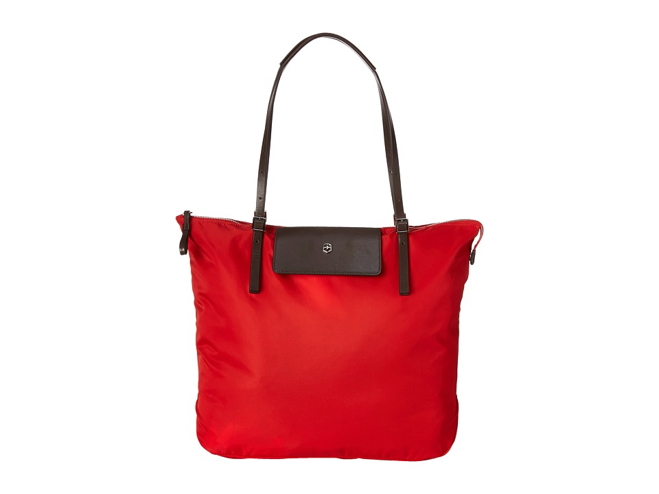 Victorinox - Victoria - Grace Foldable Tote (Red) Tote Handbags