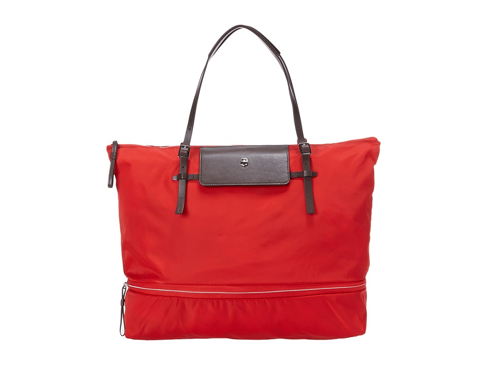 Victorinox - Victoria - Aspire Expandable Foldable Tote (Red) Tote Handbags