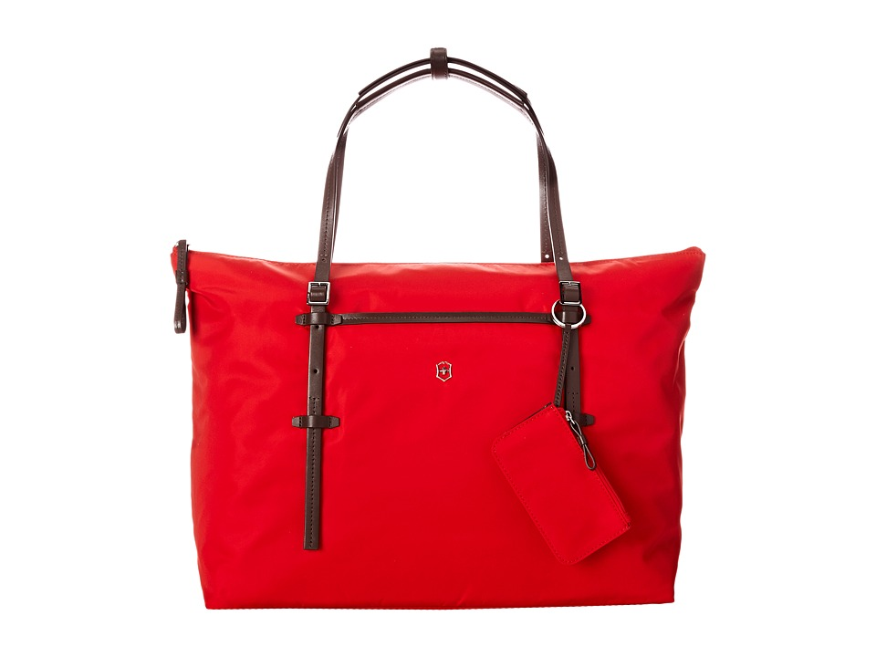 Victorinox - Victoria - Charisma Carry-All Tote with Tablet/eReader Pocket (Red) Tote Handbags
