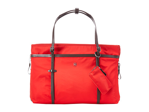 Victorinox - Victoria - Sage Expandable Carry-All Laptop Tote with Tablet/eReader Pocket (Red) Tote Handbags