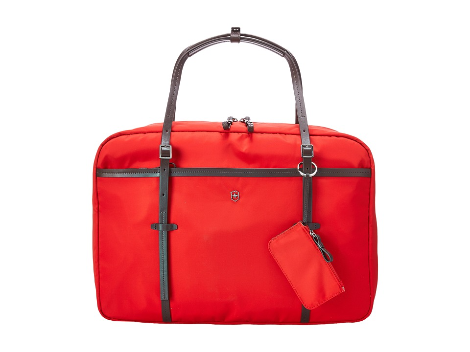 Victorinox - Victoria - Divine Laptop Boarding Tote with Tablet/eReader Pocket (Red) Tote Handbags