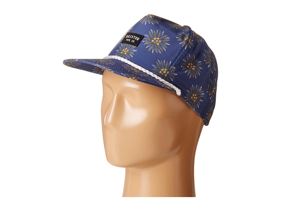 Brixton - Henshaw Snapback Cap (Navy) Caps