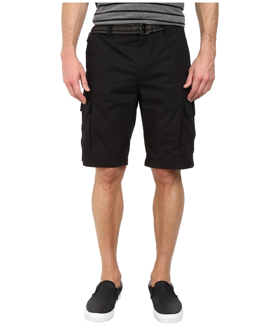 Kenneth Cole Sportswear - Cargo Shorts (Black) Men's Shorts