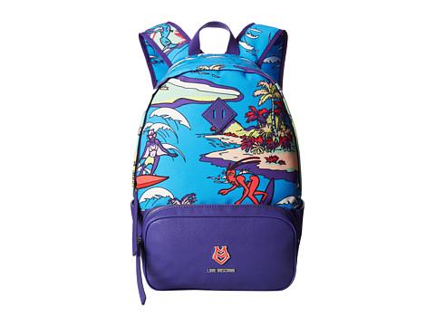 LOVE Moschino - JC4272PP0KKP0 (Blue Multi) Handbags