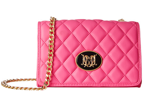 LOVE Moschino - Quilted Crossbody (Pink) Cross Body Handbags