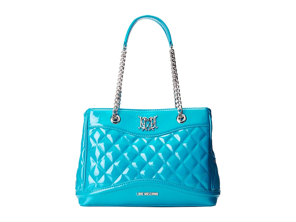 LOVE Moschino - JC4231PP0KKI0 (Sky Blue) Satchel Handbags