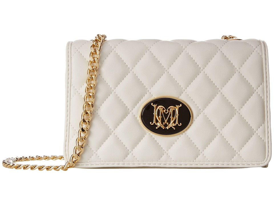 LOVE Moschino - Quilted Crossbody (Ivory) Cross Body Handbags