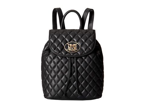 LOVE Moschino - Quilted Backpack (Black) Handbags