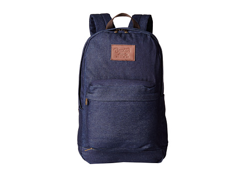 Brixton - Basin Backpack (Denim) Backpack Bags