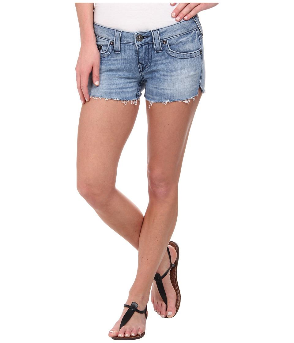 True Religion - Joey Cut Off Shorts in Medium Drifter (Medium Drifter) Women's Shorts
