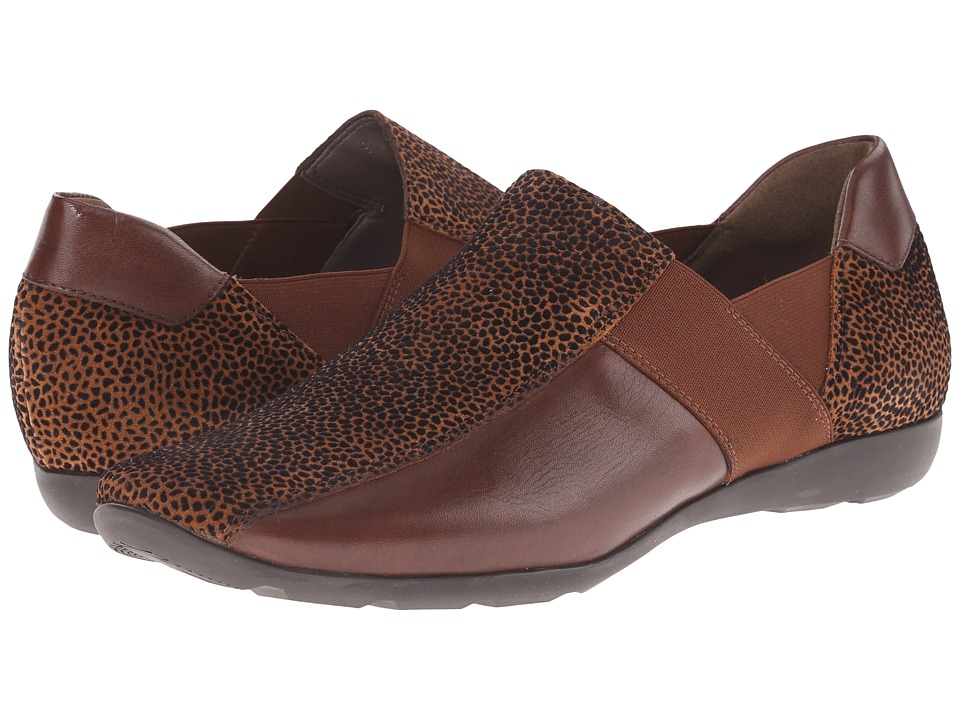 Sesto Meucci Graham (Cognac Grit/Soft Cuoio New Calf/Matching Elastic) Women