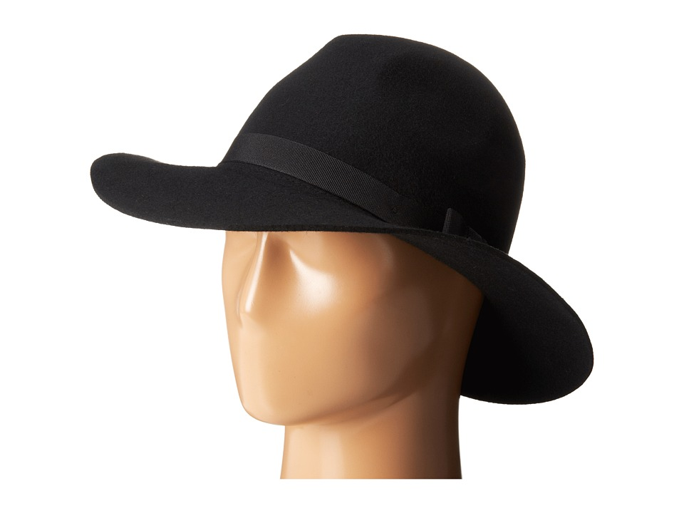 Brixton - Dalila Hat (Black/Black) Traditional Hats