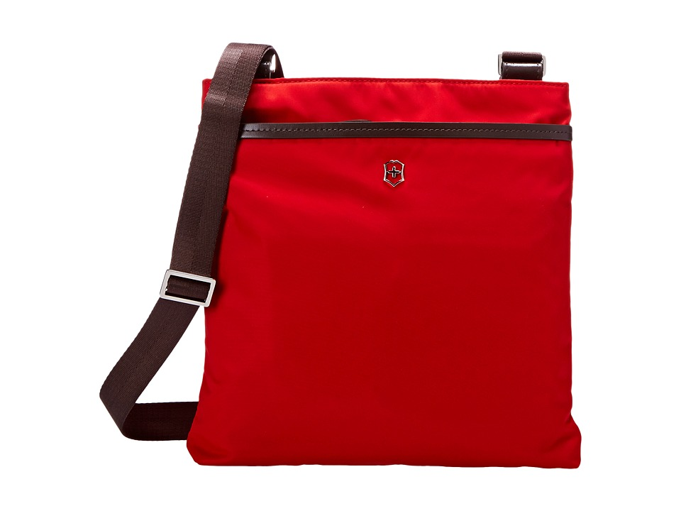 Victorinox - Victoria - Affinity Crossbody Day Bag (Red) Cross Body Handbags