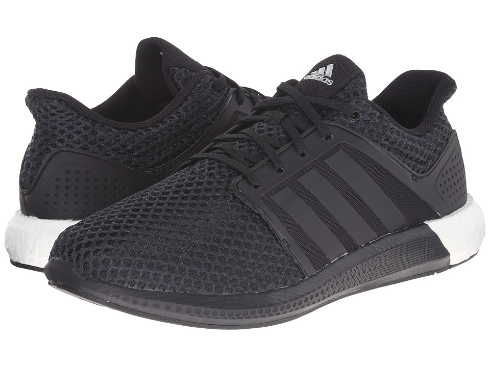 adidas Running - Solar Boost (Core Black/Core Black/Silver Metallic) Men